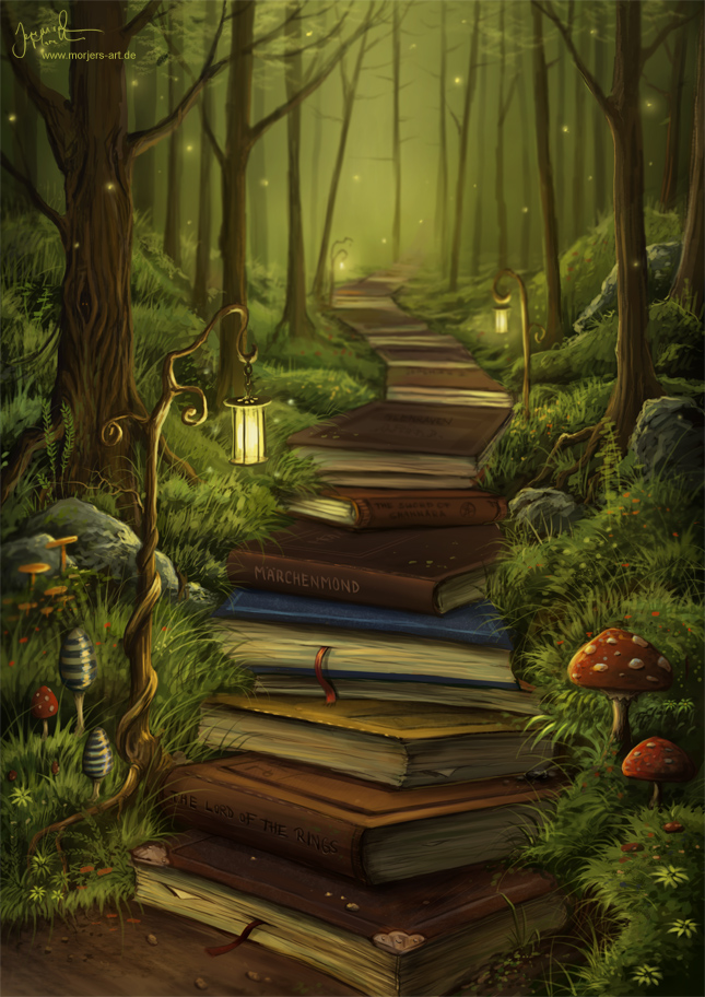 jeremiah morelli - the readers path morjers-art dot de