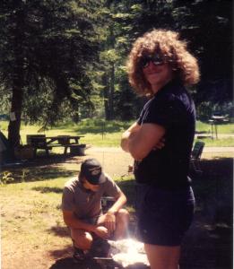 Scott Wallawa Lake w Darrin in background