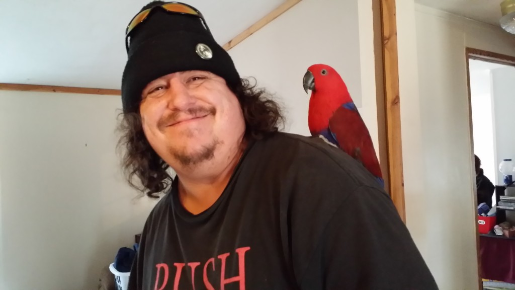 Scott with Birdie