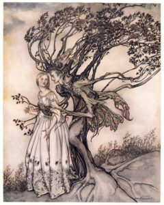 arthur rackham grimm fairytale